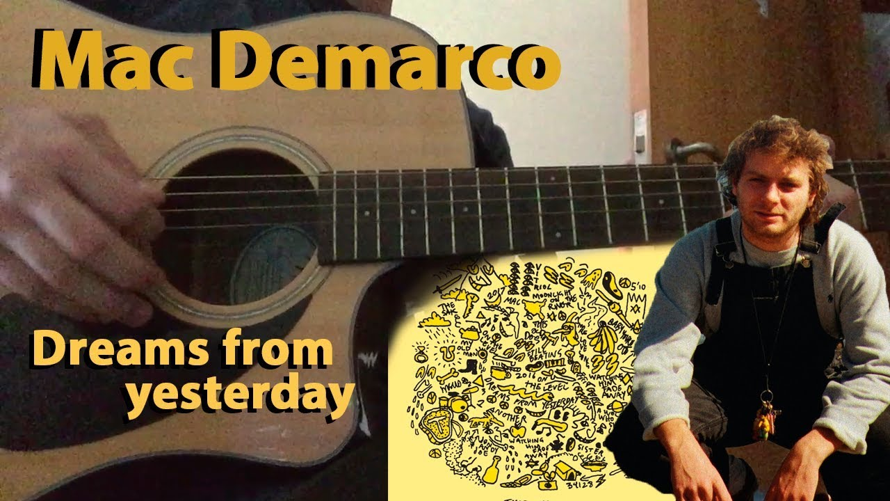 mac demarco dreams from yesterday guitar cover by lu s lima youtube. Black Bedroom Furniture Sets. Home Design Ideas