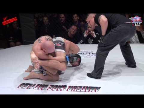 ACB 8 Amateur Cage Battles - Lewis Johnson VS Scott McFarlane SHAREFIGHT.COM