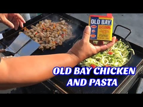 ♨️ How To Make Old Bay Chicken And Pasta - Low Carb Meal