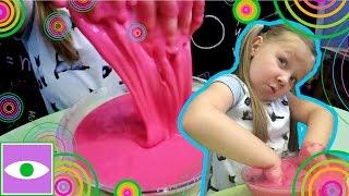 DIY: НЕНЬЮТОНОВСКАЯ ЖИДКОСТЬ как сделать дома. Разноцветная неньютоновская жидкость