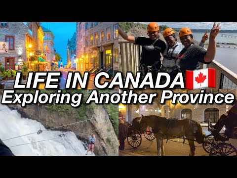 Living In Canada, Different Canadian Province Tour    Life In Canada   Quebec VLOG