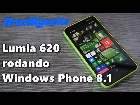 Lumia 620 rodando Windows Phone 8.1