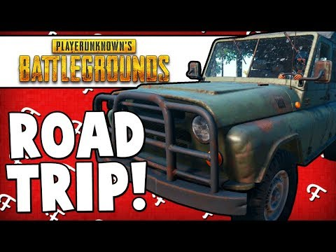 PUBG: Roadtrip Travel Around The Entire Map Attempt (Player Unknowns Battlegrounds - Comedy Gaming)