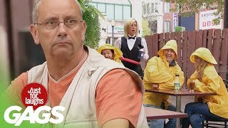 Rainy Day Pranks - Best of Just For Laughs Gags