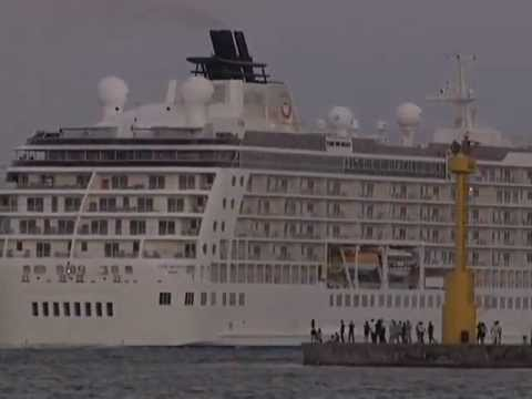 Crucero The World Residences at Sea en Veracruz Diciembre del 2012