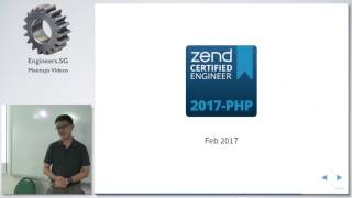 Why you should go for Zend Certified Engineer Certification? - Singapore PHP User Group