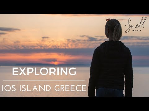 Exploring Ios Island Greece