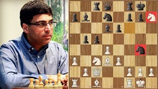Anand's Immortal - A game for the ages! (According to Magnus Carlsen) || Remake 60fps