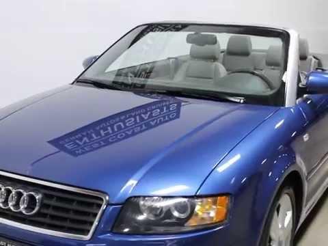 2006 audi a4 1 8t cabriolet youtube. Black Bedroom Furniture Sets. Home Design Ideas