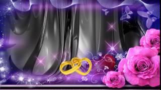 Футаж для начала свадебного фильма 720p