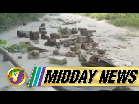 Cuba's Covid Vaccine | Residents Protest Bad Roads in St. James, Jamaica - July 12 2021