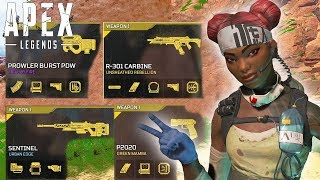 Using EVERY GOLD Weapon In Season 4! (Apex Legends PS4)