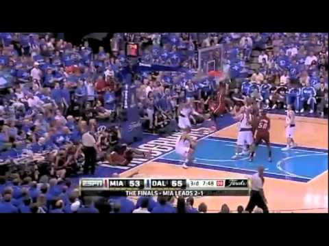In Game 4 of the 2011 NBA Finals, LeBron James scored 8 total points leading to the Mavericks winning the game.
