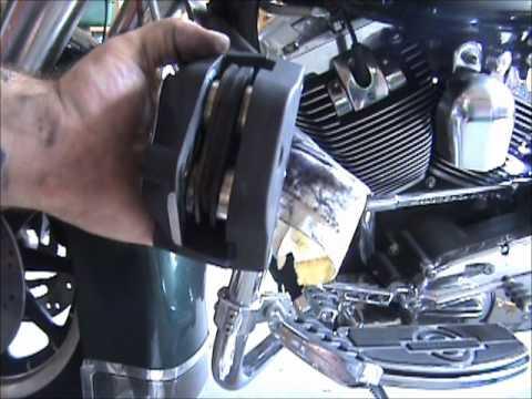 Fix a mushy front brake lever and swishing sound