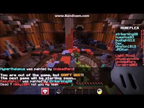 Minecraft Super Paint Ball #1 w/Tyler!