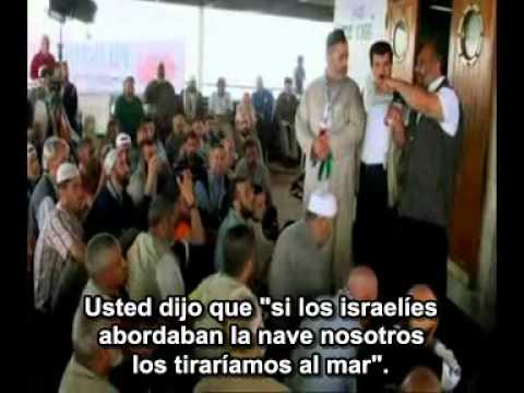 La flotilla turca a Gaza (español) - Panorama BBC -  (1/2) - The turkish flotilla to Gaza