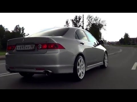 Тест Драйв Honda Accord 7 Type-S Special Edition