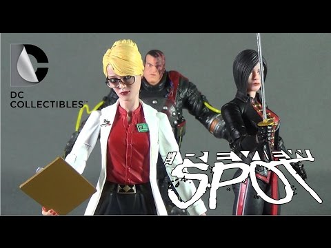 Toy Spot - DC Collectibles Batman Arkham Origins Dr. Harleen Quinzel, Electrocutioner & Lady Shiva