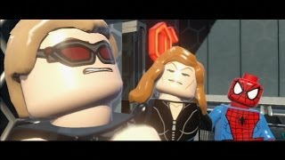 LEGO Marvel Super Heroes Walkthrough Part 3 - Exploratory Labratory