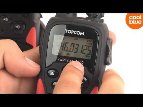 Prima Topcom Twintalker 9500 Long Range walkie talkie videoreview en HM-63