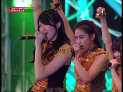 [1080p] JKT48 - Medley Scrap & Build + Korogaru Ishi ni Nare @ JKT48 5th Anniv Concert BELIEVE =