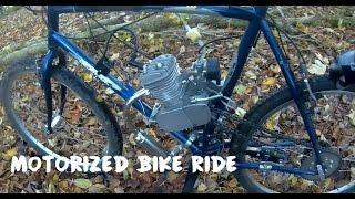 Vélo Motorisé 80cc | VTT | Chemins, Démarrage et Bitume