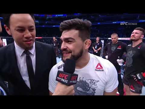 Fight Night Shanghai: Kelvin Gastelum & Michael Bisping Octagon Interview