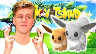 THE SHINY EEVEE HUNT!?! (Minecraft Pokemon) Pixelmon Island #5