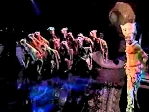 Lion King: Shadowland Broadway Performance