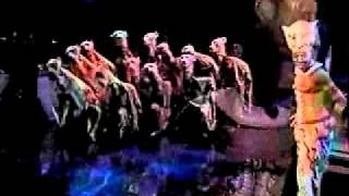 Lion King: Shadowland Broadway Performance
