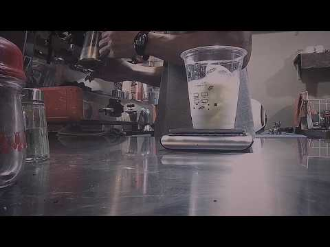 Flat white coffee - barista work from YouTube · Duration:  4 minutes 21 seconds