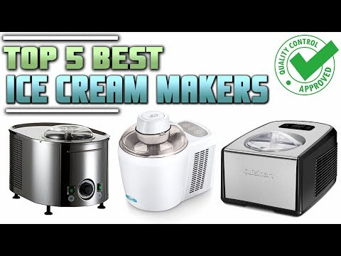 Best Ice Cream Maker | Top 5 Best Ice Cream Makers | Reviews 2019