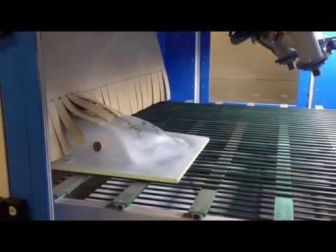 KUFRA H - Automatic Horizontal Sandblasting Machine