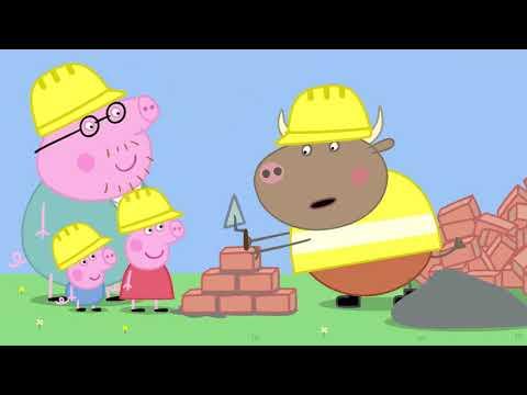 小豬佩奇 中文版第五季 1 13合集 1小時連續看  Peppa Pig SE5 1-13 Collection Chinese Version,1 hour continuous watching