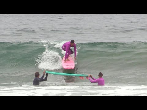 And Now, Kalani Robb Hippie Jumps a Surfboard