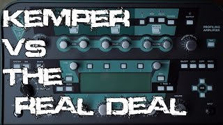 Kemper Profling Amp vs the Real Deal | SpectreSoundStudios SHOOTOUT