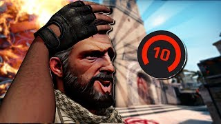 CS:GO FACEIT Level 10 Funny Moments! #2