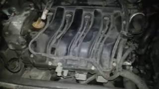 Треск в двигателе рено меган 2. Коробка автомат двигатель 1.6