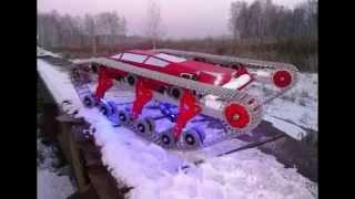 Тест-Драйв Модели Танка По Снегу // X'Tra2 Tank Test Drive