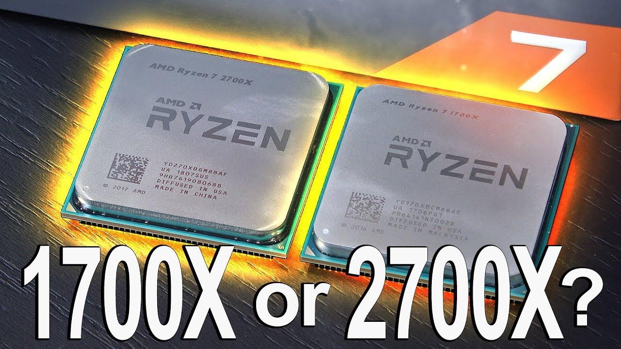 BUY the CHEAPER 1700X or 2700X? -- AMD Ryzen 7 2700X vs 1700X