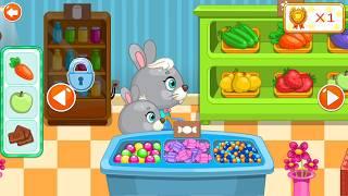 Let's Play • Supermarket dla dzieci • Nauka liczenia, robienie zakupów, bajki, Gry dla dzieci