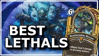Hearthstone - Best of Lethals | ft. Deathstalker Rexxar