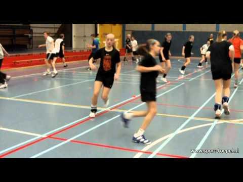 SKtv looptraining handbalschool 4