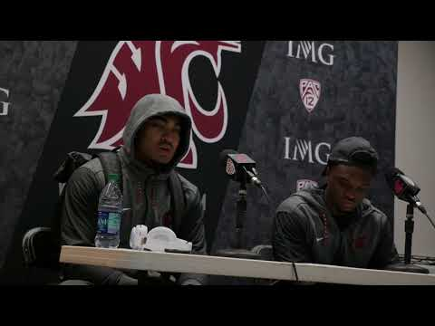 Robert Taylor and Jamal Morrow Following 37-3 Loss to Cal