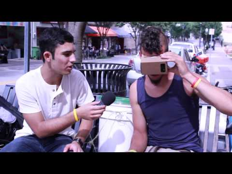 People's Reaction To Google Cardboard by Focus Cardboard