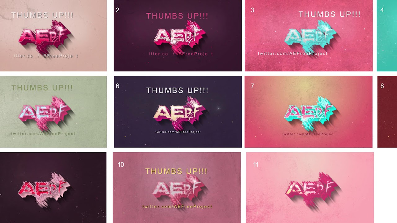 After Effects Template - Retro Vintage Titles Pack
