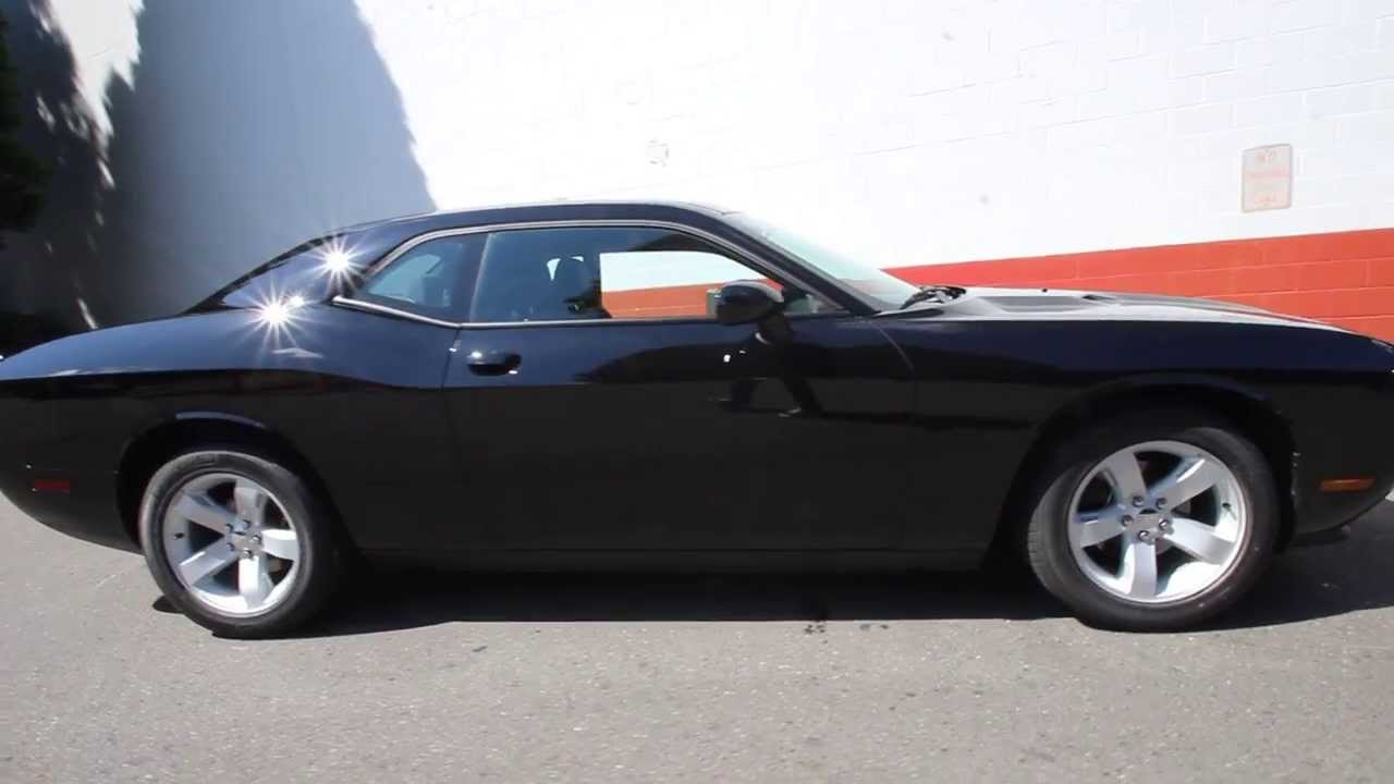 Eh101256 2014 Dodge Challenger Sxt Kirklanddcj Black