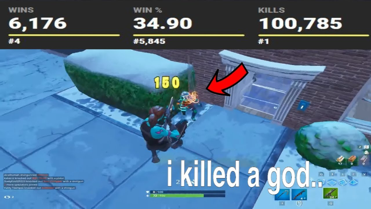 EXPOSING every players stats that i KILL on Fortnite... 😱 (pro players)