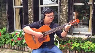 Phố Mùa Đông (Mèo Ú độc tấu Guitar) - Cover Phố Mùa Đông