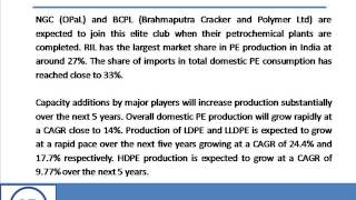 Bharat Book Presents : India Polyethylene Report 2013   Demand , Supply , Import Export